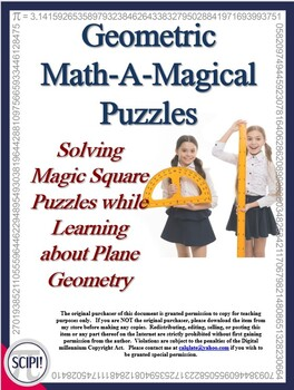 Geometric Math Puzzles - Using Number Tiles to Learn about