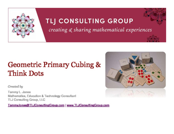 Geometric Primary Cubing and Think Dots
