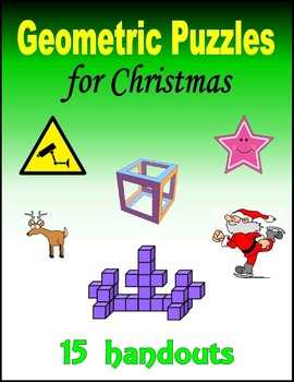 Geometric Puzzles for Christmas