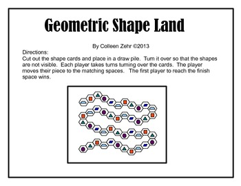 Geometric Shape Land - a geometry game