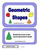 Geometric Shapes Folder Game
