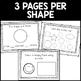 Geometric Shapes Interactive Mini-Book
