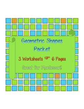 Geometric Shapes Packet