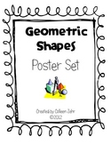 Geometric Shapes Poster Set Geometry 2.G.1, 1.G.1, 1.G.2