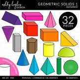 Geometric Solids Clipart