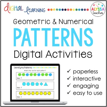 Geometric and Numerical Patterns Digital Activities for Go