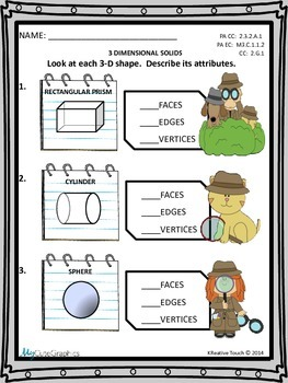 Geometry:  3-Dimensional Solids