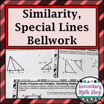Similarity - Unit 5: Special Lines, Similarity, Inequaliti
