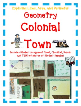 Geometry Activity Project COLONIAL TOWN- Exploring Lines,