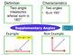 Geometry-Angles-Frayer Model Vocabulary (Vocabulary they w