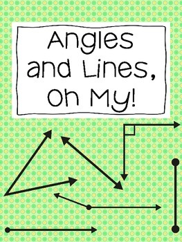 Geometry - Angles and Lines, Oh My