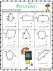 Geometry:  Area and Perimeter Review  One Week No Prep Printables