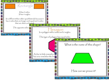 Geometry: Attributes of Shapes (Triangle, Quadrilaterals,
