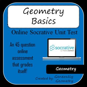 Geometry Basics Test-Socrative: Points, Lines, Planes, Pol