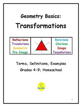 Geometry Basics: Transformations