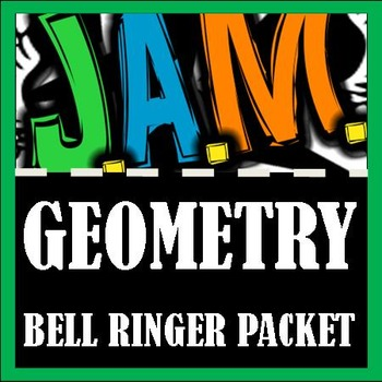 Geometry Bell Ringer Packet (Complete 2nd 9 weeks) Do Now