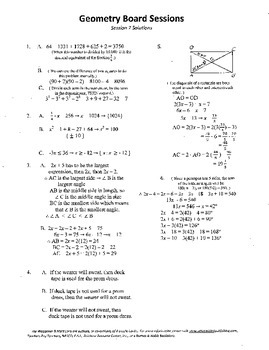 Geometry Board Session 7,SAT,ACT,pentagon,angle work,recta