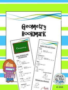 Geometry Bookmark