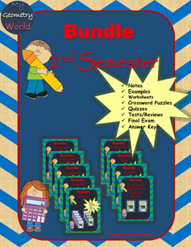 Geometry Bundle: 2nd Semester Curriculum
