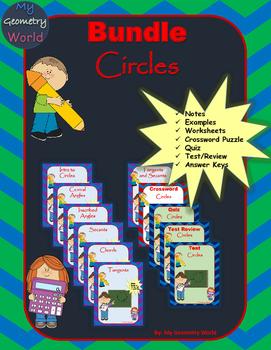 Geometry Bundle: Circles