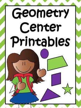Geometry Center Printables