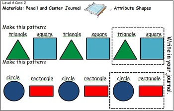 Geometry Center Cards A