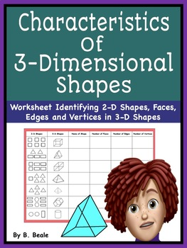 Geometry - Characteristics of 3 Dimensional Shapes