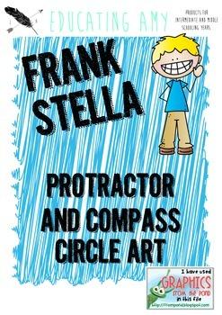 Geometry Circle Art - Inspired by Frank Stella