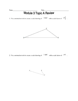 Geometry Common Core Regents Review Material