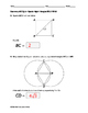 Geometry EOC Quiz - Special Right Triangles BUNDLE