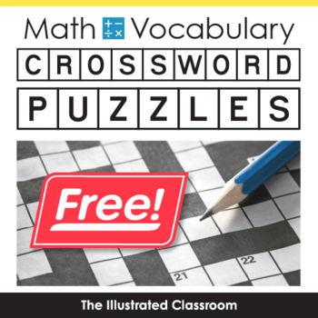 5 Math Vocabulary Freebies - The Illustrated Classroom