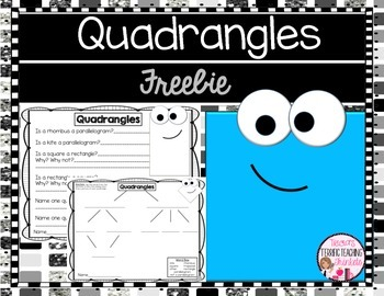 Geometry Quadrangles Freebie