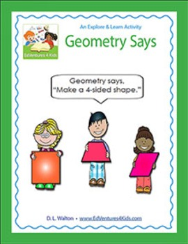 Geometry Says: 2nd - 5th Grade Geometry Game