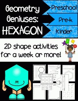 Geometry Geniuses: Hexagon