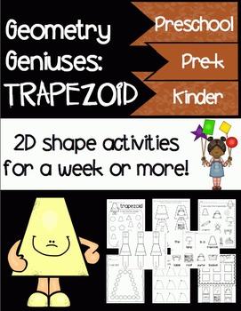 Geometry Geniuses: Trapezoid