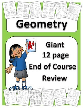 Geometry: Giant End of Course Review