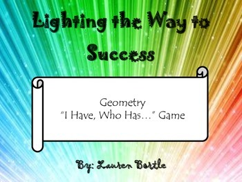 Geometry - I Have, Who Has Game