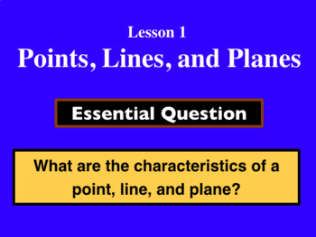Unit 1, Lesson 1: Geometry Introduction