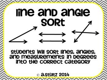 Geometry Line and Angle Sort