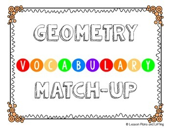 Geometry Match-Up