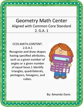 Geometry Math Center 2.G.A.1