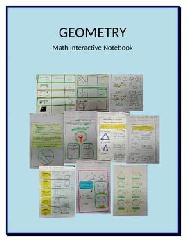 Math Interactive Notebook Geometry