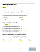 Geometry- Measuring Segments-  Exit  Ticket,  Quiz or Homework