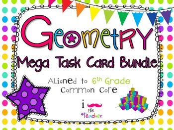 Geometry Mega Task Card Bundle