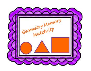Geometry Memory Match Up!