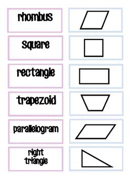 Geometry Memory or Sort Cards