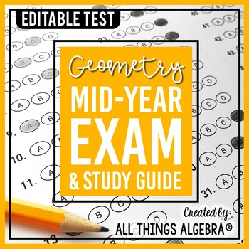Geometry Mid-Year (Semester) Test and Study Guide