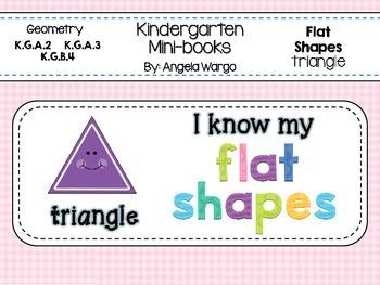 Geometry Mini Readers – Flat Shapes – Triangle