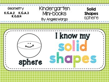 Geometry Mini Readers – Solid Shapes – sphere