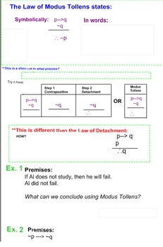 Geometry- Modus Tollens and Invalid Arguments - Logic